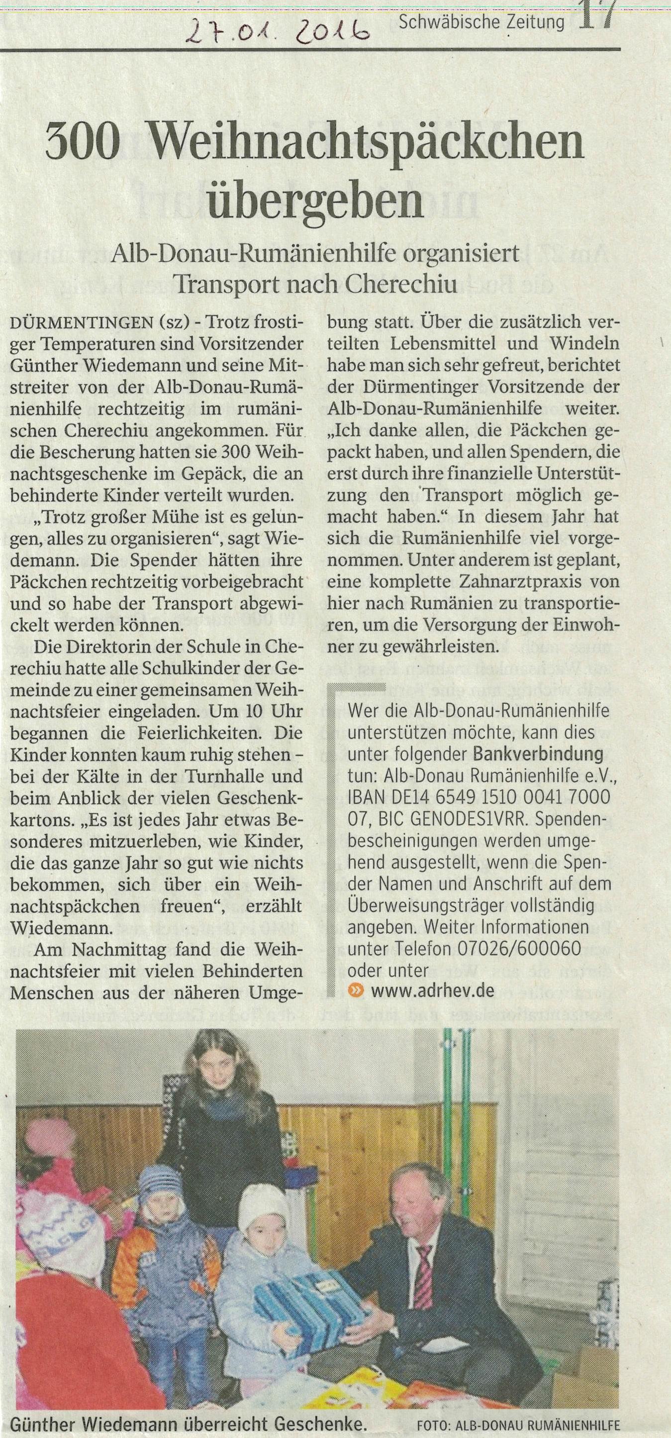 Zeitungsartikel_Schw.Zeitung_27.01.2016