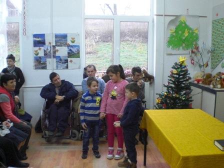 Kinder singen für behinderte